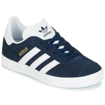 Sapatos Rapaz Sapatilhas adidas Originals Gazelle C Marinho