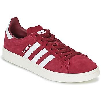 Sapatos Sapatilhas adidas Originals CAMPUS Bordô