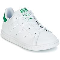 Sapatos Criança Sapatilhas adidas Originals STAN SMITH I Branco / Verde