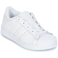 Sapatos Rapariga Sapatilhas adidas Originals SUPERSTAR Branco