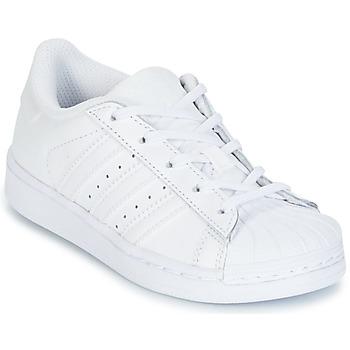 Sapatos Rapariga Sapatilhas adidas Originals SUPERTSAR Branco