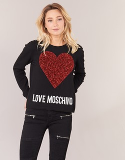 Textil Mulher camisolas Love Moschino WS89G01X0683 Preto