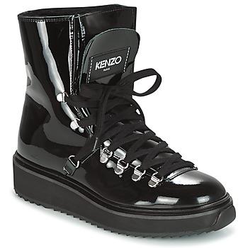Sapatos Mulher Botas de neve Kenzo ALASKA Preto