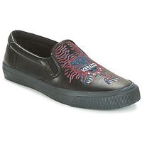 Sapatos Homem Slip on Kenzo VELVET Preto