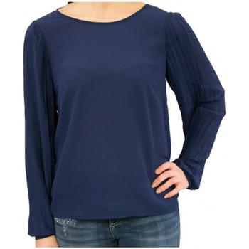 Textil Mulher Tops / Blusas Kocca Blusa BETHOR Azul