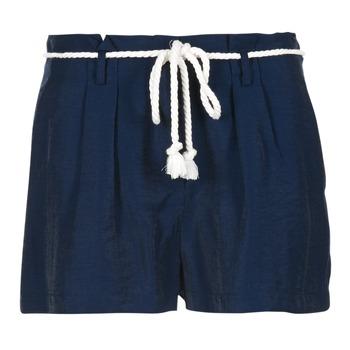 Textil Mulher Shorts / Bermudas Casual Attitude IGRETTE Marinho
