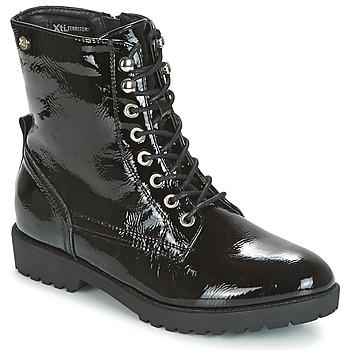 Sapatos Mulher Botas baixas Xti PAMIDI Preto