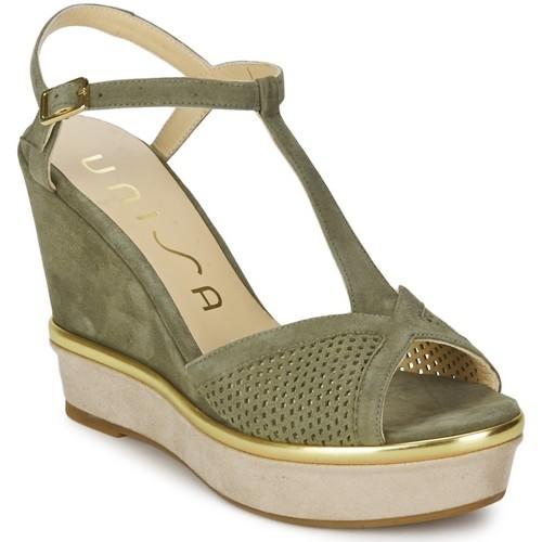 Sapatos Mulher Sandálias Unisa Melus Sandals Verde