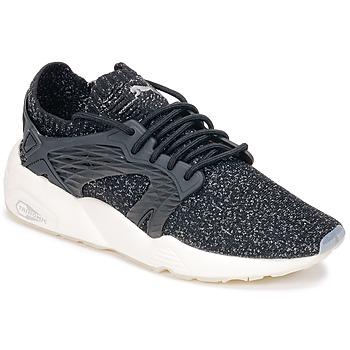 Sapatos Sapatilhas de corrida Puma BLAZE CAGE EVOKNIT Preto / Branco