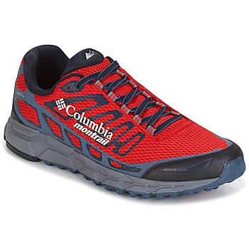 Sapatos Homem Sapatilhas de corrida Columbia BAJADA III Vermelho