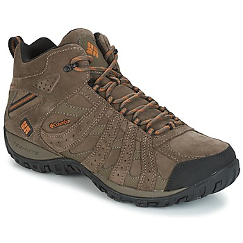 Sapatos Homem Sapatos de caminhada Columbia REDMOND MID LEATHER OMNI-TECH Toupeira