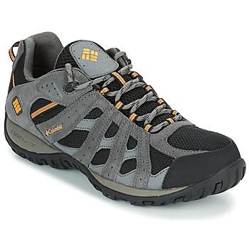 Sapatos Homem Sapatos de caminhada Columbia REDMOND WATERPROOF Preto