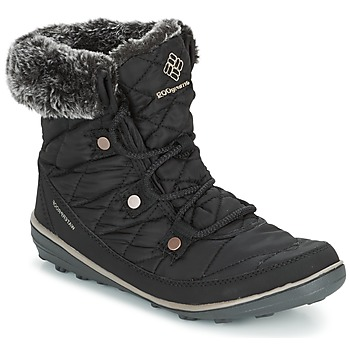 Sapatos Mulher Botas de neve Columbia HEAVENLY SHORTY OMNI-HEAT Preto