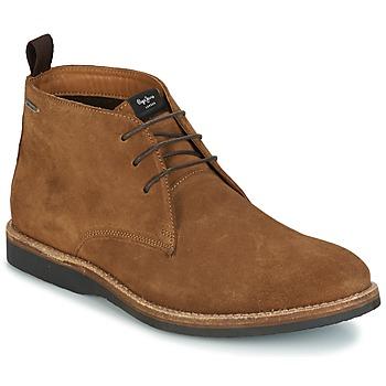 Sapatos Homem Botas baixas Pepe jeans KENT CHUCCA Castanho