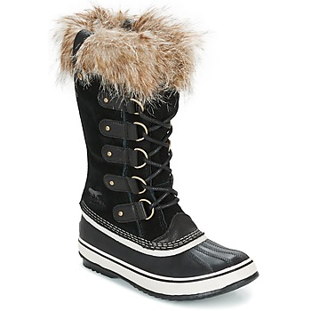 Sapatos Mulher Botas de neve Sorel JOAN OF ARCTIC Preto