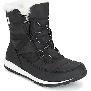 Sapatos Mulher Botas de neve Sorel WHITNEY SHORT LACE Preto