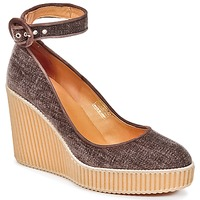 Sapatos Mulher Escarpim Castaner QUINTAY Castanho