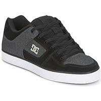 Sapatos Homem Sapatos estilo skate DC Shoes PURE SE Preto / Cinza