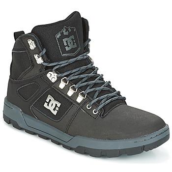 Sapatos Homem Sapatilhas de cano-alto DC Shoes SPARTAN HIGH WR Preto / Cinza