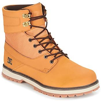 Sapatos Homem Botas baixas DC Shoes UNCAS M BOOT TBK Bege / Preto / Castanho