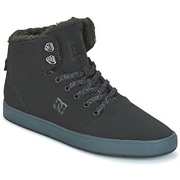 Sapatos Homem Sapatilhas de cano-alto DC Shoes CRISIS HIGH WNT Preto / Cinza
