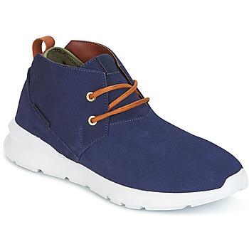 Sapatos Homem Botas baixas DC Shoes ASHLAR M SHOE NC2 Marinho / Camel