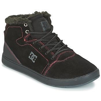 Sapatos Criança Sapatilhas de cano-alto DC Shoes CRISIS HIGH WNT Preto / Vermelho / Branco