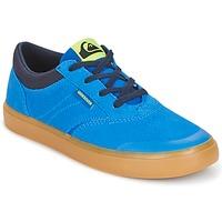 Sapatos Criança Sapatilhas de cano-alto Quiksilver BURC YOUTH B SHOE XBCB Azul / Castanho