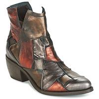 Sapatos Mulher Botas baixas Dkode JOELLE-MULTICOLORE-029 Castanho