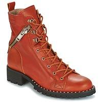 Sapatos Mulher Botas baixas Dkode UDELE-OCRE-008 Laranja