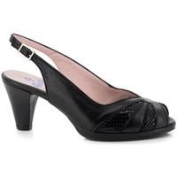 Sapatos Mulher Escarpim Carlos Pla 4125 Preto