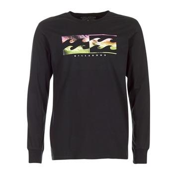 Textil Homem T-shirt mangas compridas Billabong INVERSE TEE LS Preto