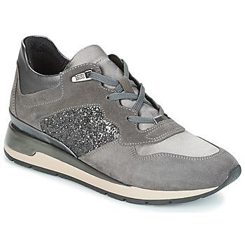 Sapatos Mulher Sapatilhas Geox D SHAHIRA Cinza