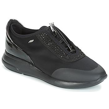 Sapatos Mulher Sapatilhas Geox D OPHIRA Preto