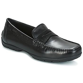 Sapatos Homem Mocassins Geox U MONET W 2FIT Preto
