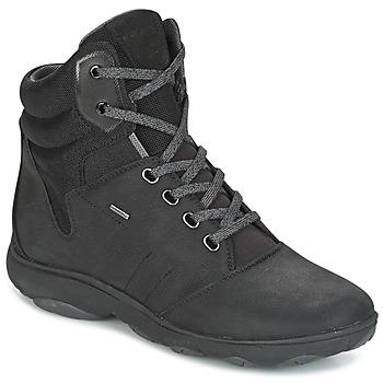 Sapatos Mulher Sapatilhas de cano-alto Geox D NEBULA 4 X 4 B ABX Preto