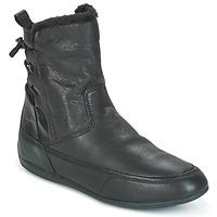 Sapatos Mulher Botas baixas Geox D NEW MOENA Preto