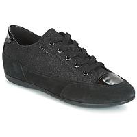 Sapatos Mulher Sapatilhas Geox D NEW MOENA Preto