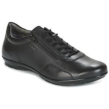 Sapatos Homem Sapatilhas Geox UOMO SYMBOL Preto