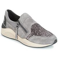 Sapatos Mulher Sapatilhas Geox D OMAYA Cinza