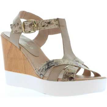 Sapatos Mulher Sandálias Vaquetillas 20159 Beige