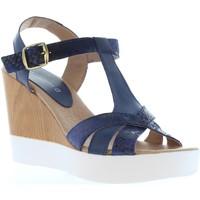 Sapatos Mulher Sandálias Vaquetillas 20159 Azul