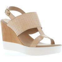 Sapatos Mulher Sandálias Vaquetillas 20143 Beige