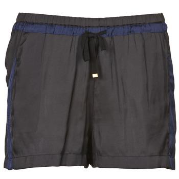 Textil Mulher Shorts / Bermudas Naf Naf KAOLOU Preto