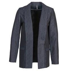 Textil Mulher Casacos/Blazers Naf Naf ELYO Marinho
