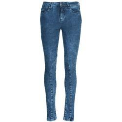 Textil Mulher Calças de ganga slim Naf Naf GOJO Azul