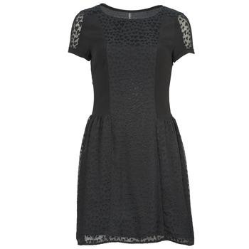 Textil Mulher Vestidos curtos Naf Naf KEUR Preto