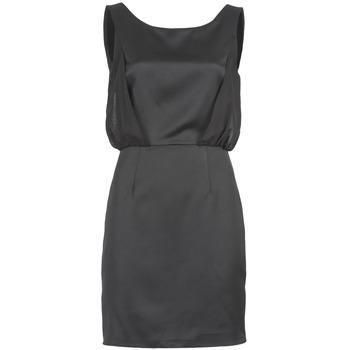 Textil Mulher Vestidos curtos Naf Naf LYCOPINE Preto
