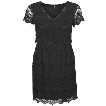 Textil Mulher Vestidos curtos Naf Naf LYJO Preto