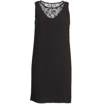 Textil Mulher Vestidos curtos Naf Naf LYSHOW Preto